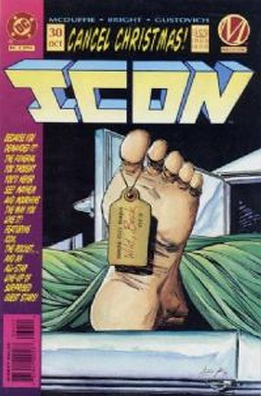 Cover of Icon (Vol 1) #30. One of 250,000 Vintage American Comics on sale from Krypton!