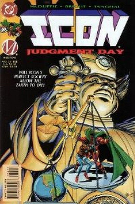 Cover of Icon (Vol 1) #34. One of 250,000 Vintage American Comics on sale from Krypton!