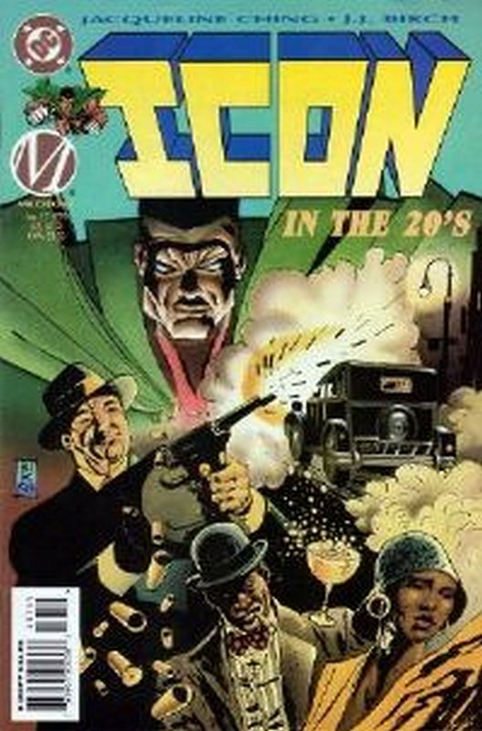 Cover of Icon (Vol 1) #37. One of 250,000 Vintage American Comics on sale from Krypton!