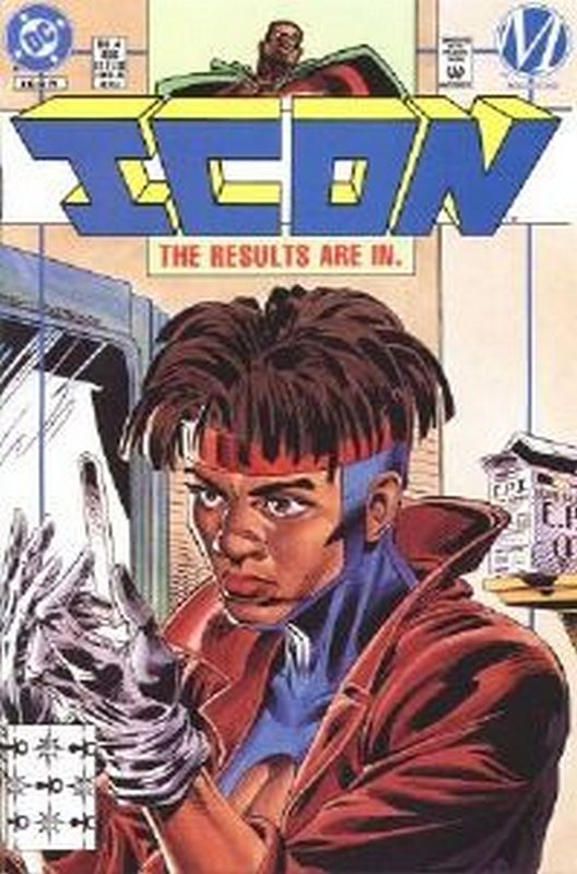 Cover of Icon (Vol 1) #4. One of 250,000 Vintage American Comics on sale from Krypton!
