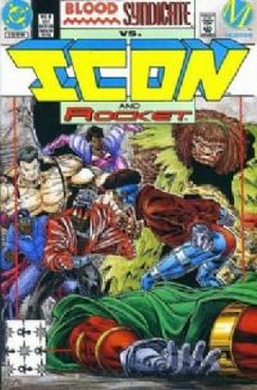 Cover of Icon (Vol 1) #6. One of 250,000 Vintage American Comics on sale from Krypton!