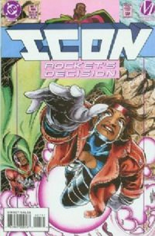 Cover of Icon (Vol 1) #7. One of 250,000 Vintage American Comics on sale from Krypton!