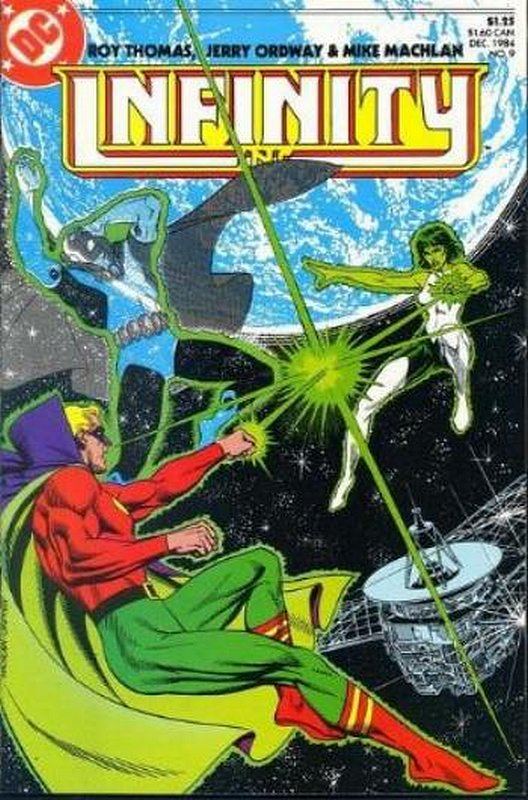 Cover of Infinity Inc (Vol 1) #9. One of 250,000 Vintage American Comics on sale from Krypton!