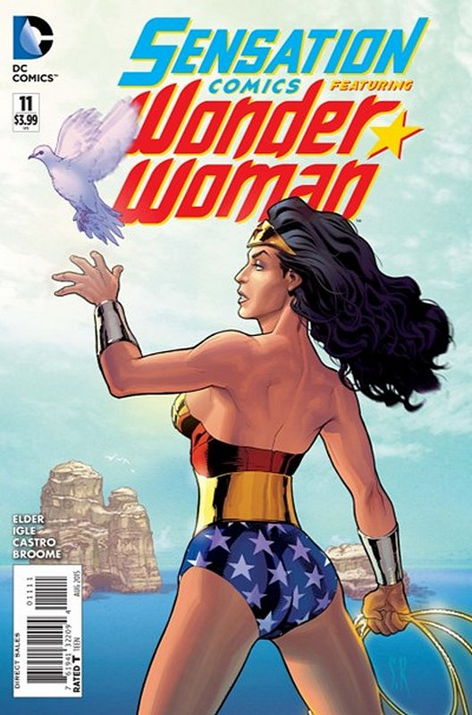 Cover of Sensation Comics Featuring Wonder Woman (Vol 1) #11. One of 250,000 Vintage American Comics on sale from Krypton!