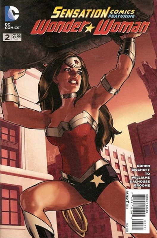 Cover of Sensation Comics Featuring Wonder Woman (Vol 1) #2. One of 250,000 Vintage American Comics on sale from Krypton!