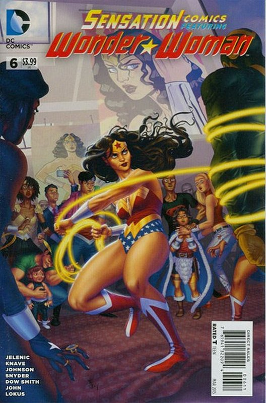 Cover of Sensation Comics Featuring Wonder Woman (Vol 1) #6. One of 250,000 Vintage American Comics on sale from Krypton!