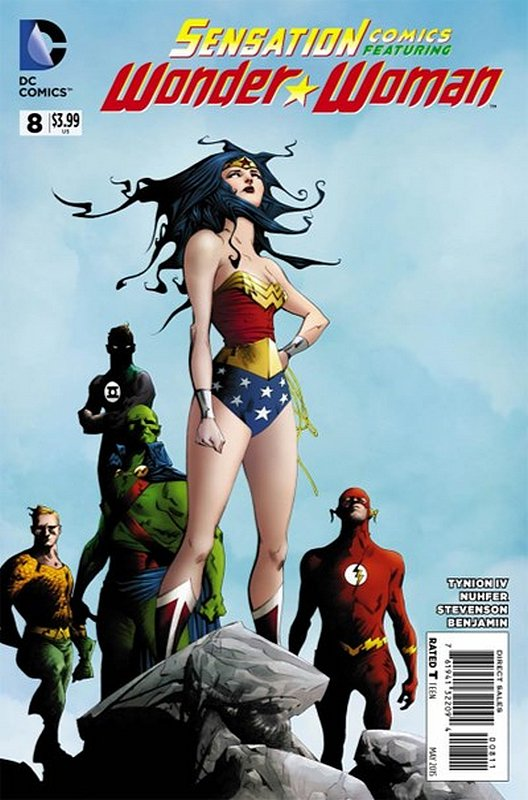 Cover of Sensation Comics Featuring Wonder Woman (Vol 1) #8. One of 250,000 Vintage American Comics on sale from Krypton!