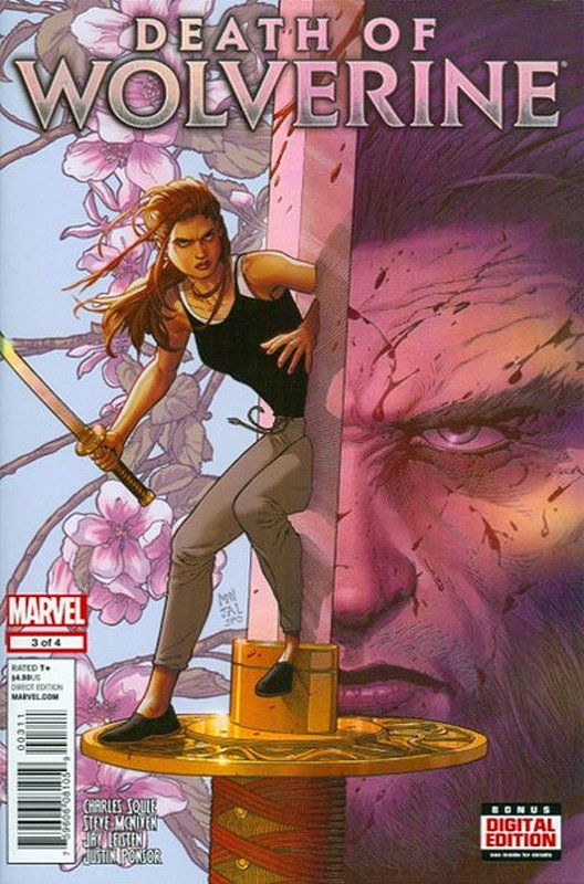 Cover of Death of Wolverine (2014 Ltd) #3. One of 250,000 Vintage American Comics on sale from Krypton!