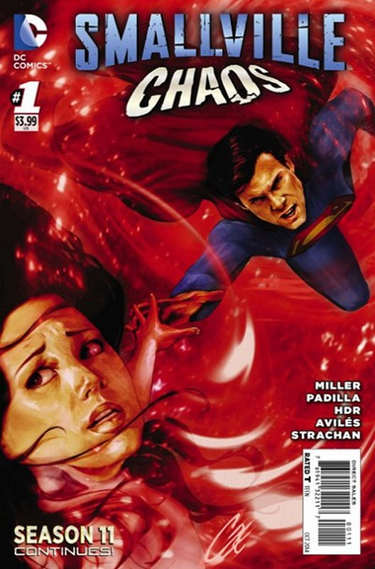 Cover of Smallville Season 11 Chaos (2014 Ltd) #1. One of 250,000 Vintage American Comics on sale from Krypton!