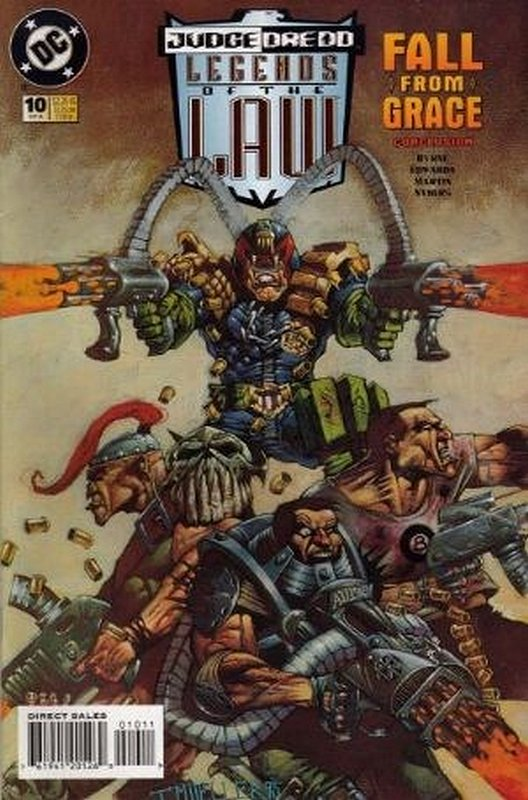 Cover of Judge Dredd: Legends of the Law (Vol 1) #10. One of 250,000 Vintage American Comics on sale from Krypton!