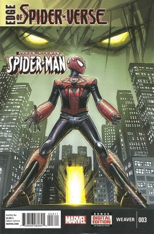 Cover of Edge of Spider-Verse (2014 Ltd) #3. One of 250,000 Vintage American Comics on sale from Krypton!
