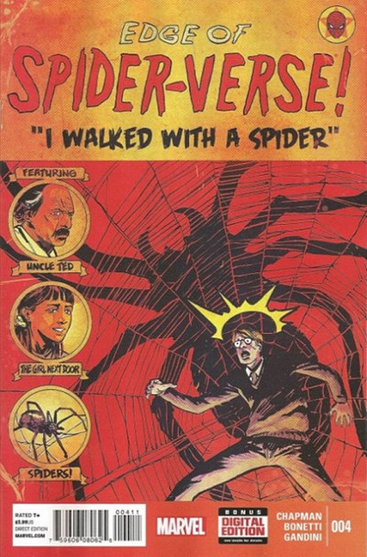 Cover of Edge of Spider-Verse (2014 Ltd) #4. One of 250,000 Vintage American Comics on sale from Krypton!