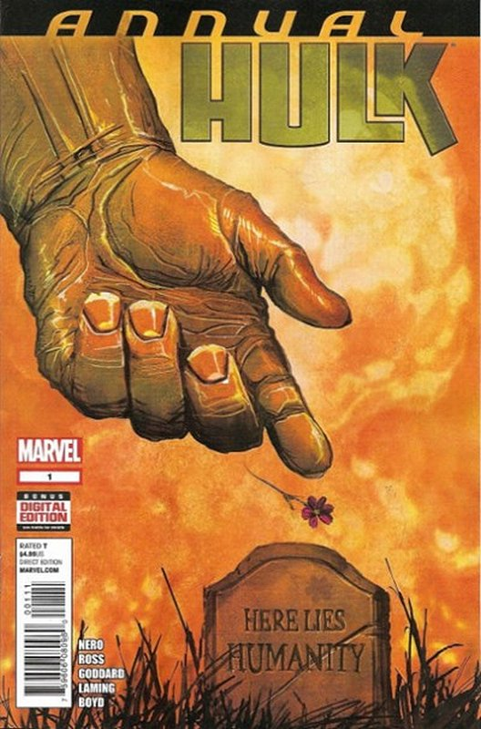 Cover of Hulk Annual (2014) #1. One of 250,000 Vintage American Comics on sale from Krypton!