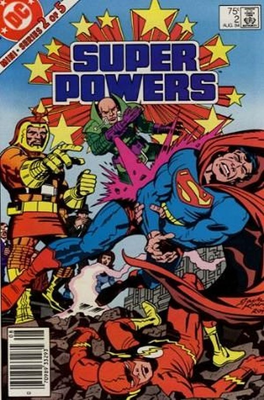 Cover of Super Powers (1984 Ltd) #2. One of 250,000 Vintage American Comics on sale from Krypton!