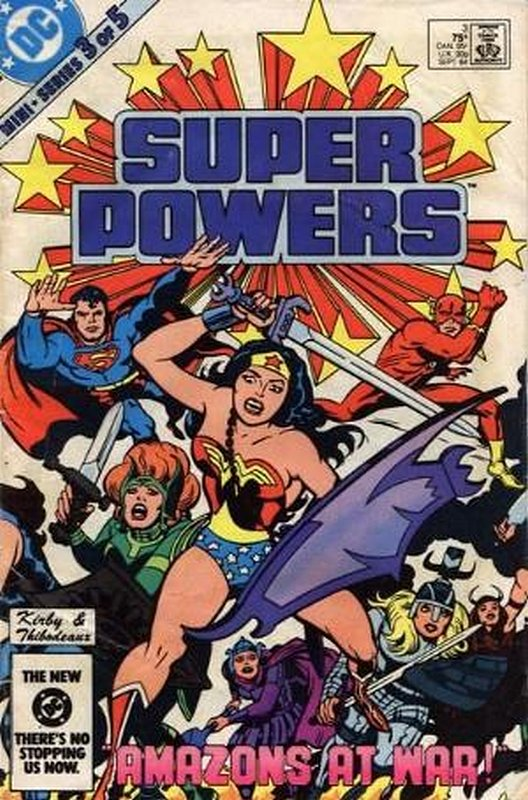 Cover of Super Powers (1984 Ltd) #3. One of 250,000 Vintage American Comics on sale from Krypton!