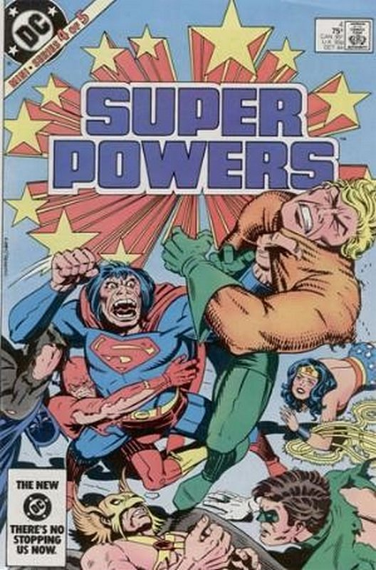 Cover of Super Powers (1984 Ltd) #4. One of 250,000 Vintage American Comics on sale from Krypton!