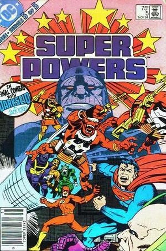 Cover of Super Powers (1984 Ltd) #5. One of 250,000 Vintage American Comics on sale from Krypton!