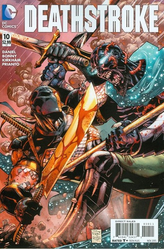 Cover of Deathstroke (Vol 3) #10. One of 250,000 Vintage American Comics on sale from Krypton!