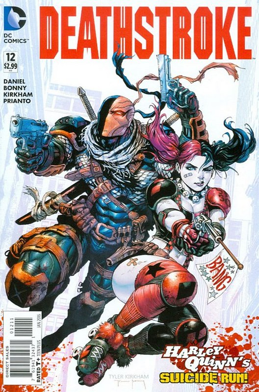 Cover of Deathstroke (Vol 3) #12. One of 250,000 Vintage American Comics on sale from Krypton!