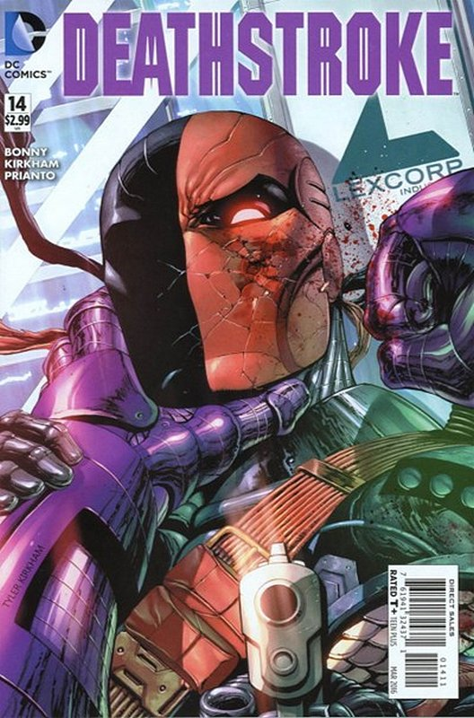 Cover of Deathstroke (Vol 3) #14. One of 250,000 Vintage American Comics on sale from Krypton!