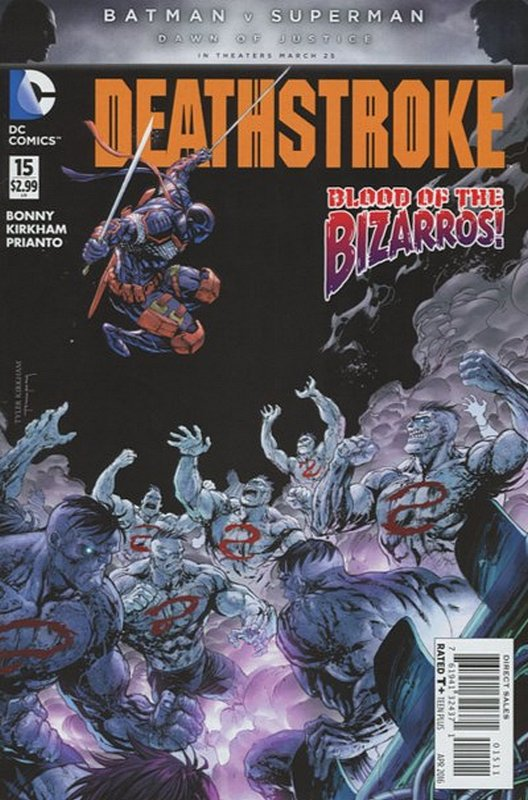 Cover of Deathstroke (Vol 3) #15. One of 250,000 Vintage American Comics on sale from Krypton!