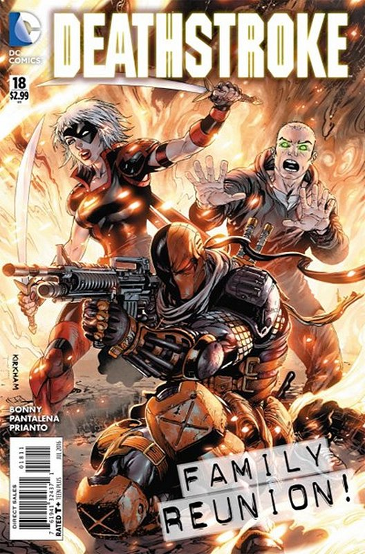 Cover of Deathstroke (Vol 3) #18. One of 250,000 Vintage American Comics on sale from Krypton!
