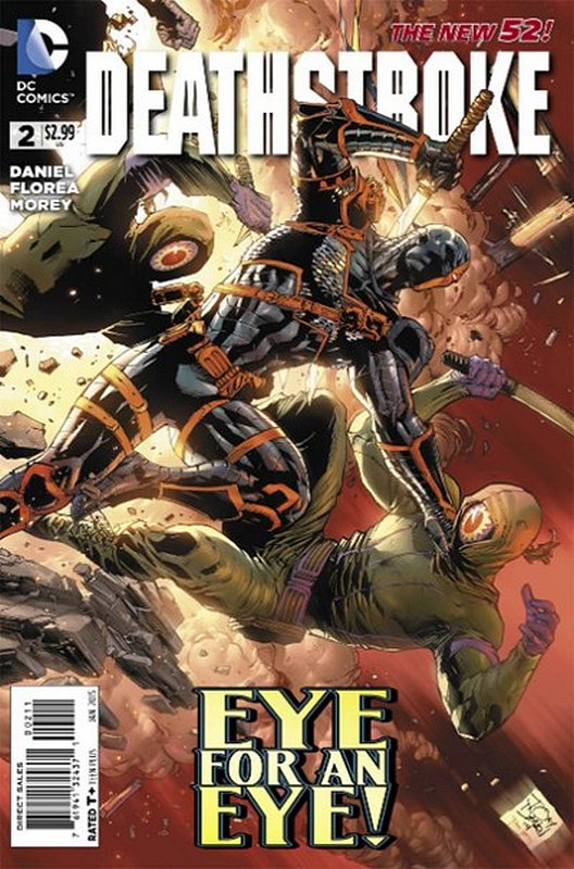Cover of Deathstroke (Vol 3) #2. One of 250,000 Vintage American Comics on sale from Krypton!