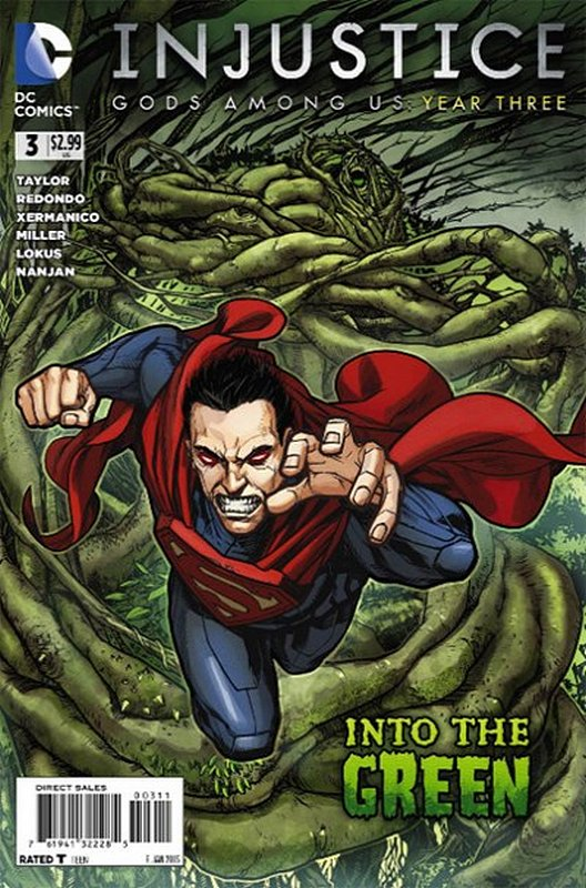 Cover of Injustice: Gods Among Us - Year Three #3. One of 250,000 Vintage American Comics on sale from Krypton!