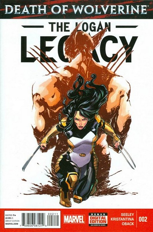 Cover of Death of Wolverine: Logan Legacy (2014 Ltd) #2. One of 250,000 Vintage American Comics on sale from Krypton!