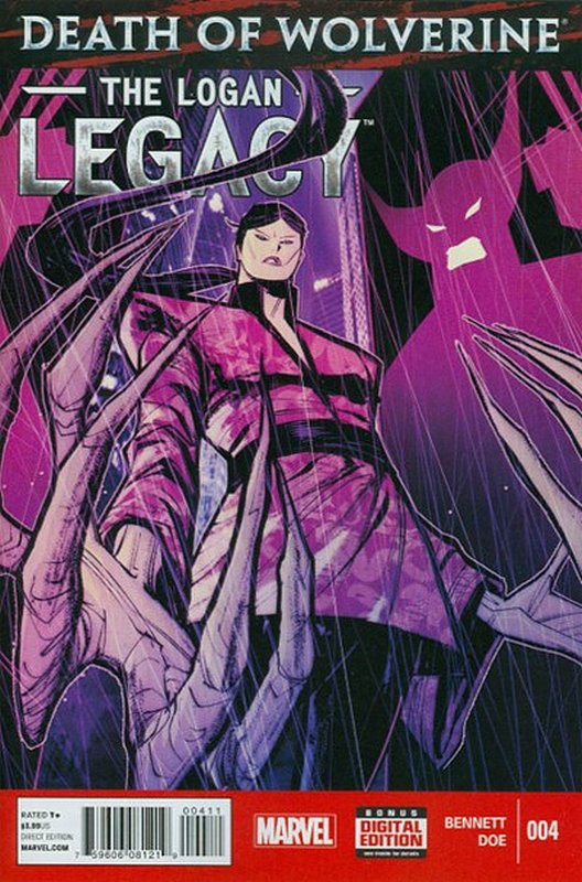Cover of Death of Wolverine: Logan Legacy (2014 Ltd) #4. One of 250,000 Vintage American Comics on sale from Krypton!