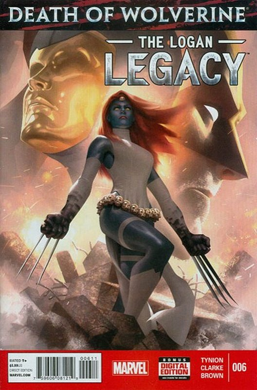 Cover of Death of Wolverine: Logan Legacy (2014 Ltd) #6. One of 250,000 Vintage American Comics on sale from Krypton!