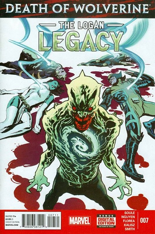Cover of Death of Wolverine: Logan Legacy (2014 Ltd) #7. One of 250,000 Vintage American Comics on sale from Krypton!