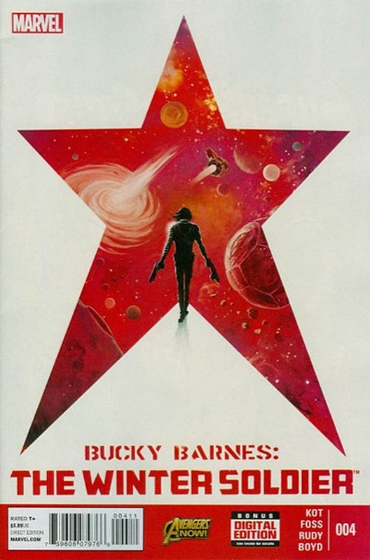 Cover of Bucky Barnes: Winter Soldier (Vol 1) #4. One of 250,000 Vintage American Comics on sale from Krypton!
