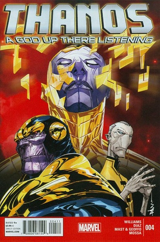 Cover of Thanos: A God Up There Listening (2014 Ltd) #4. One of 250,000 Vintage American Comics on sale from Krypton!