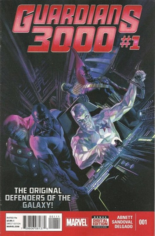 Cover of Guardians 3000 (Vol 1) #1. One of 250,000 Vintage American Comics on sale from Krypton!