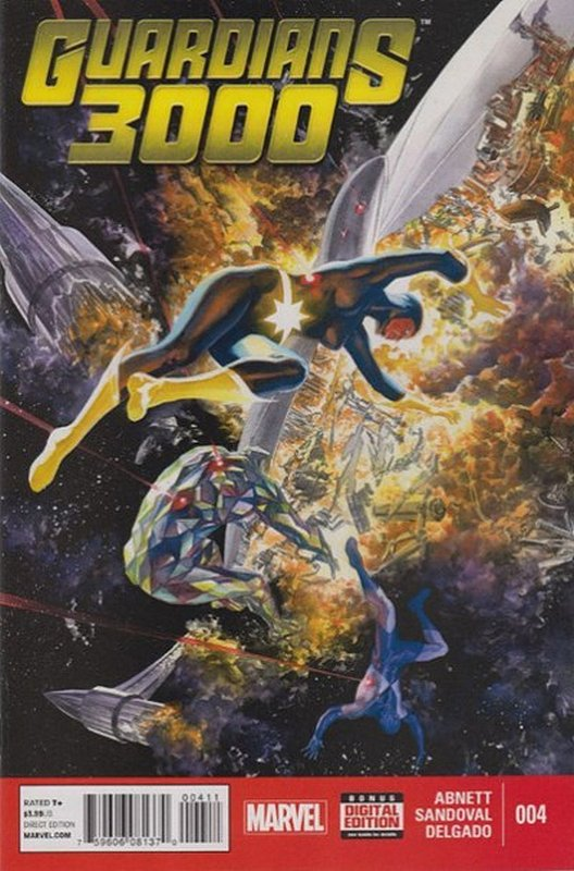 Cover of Guardians 3000 (Vol 1) #4. One of 250,000 Vintage American Comics on sale from Krypton!