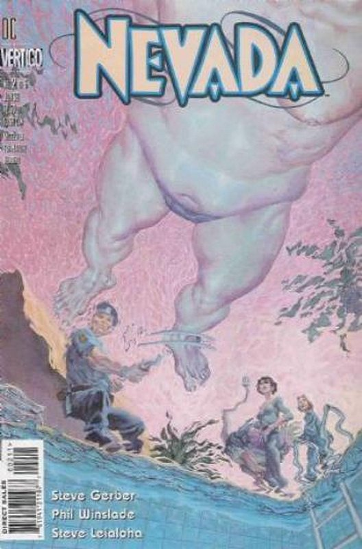 Cover of Nevada (1996 Ltd) #2. One of 250,000 Vintage American Comics on sale from Krypton!