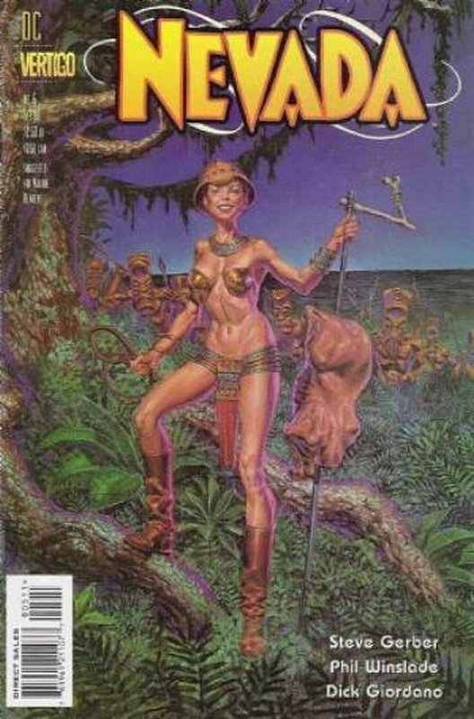 Cover of Nevada (1996 Ltd) #5. One of 250,000 Vintage American Comics on sale from Krypton!