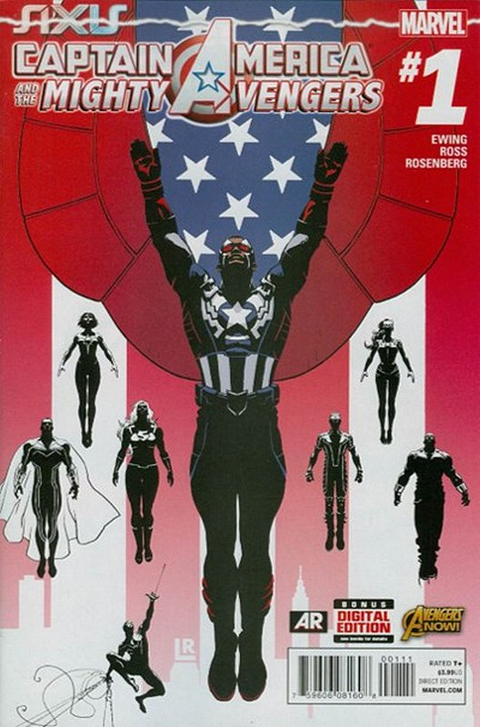 Cover of Captain America & Mighty Avengers (Vol 1) #1. One of 250,000 Vintage American Comics on sale from Krypton!