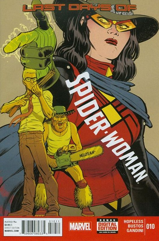 Cover of Spider-Woman (Vol 4) #10. One of 250,000 Vintage American Comics on sale from Krypton!