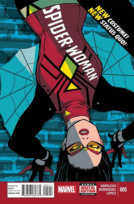 Cover of Spider-Woman (Vol 4) #5. One of 250,000 Vintage American Comics on sale from Krypton!