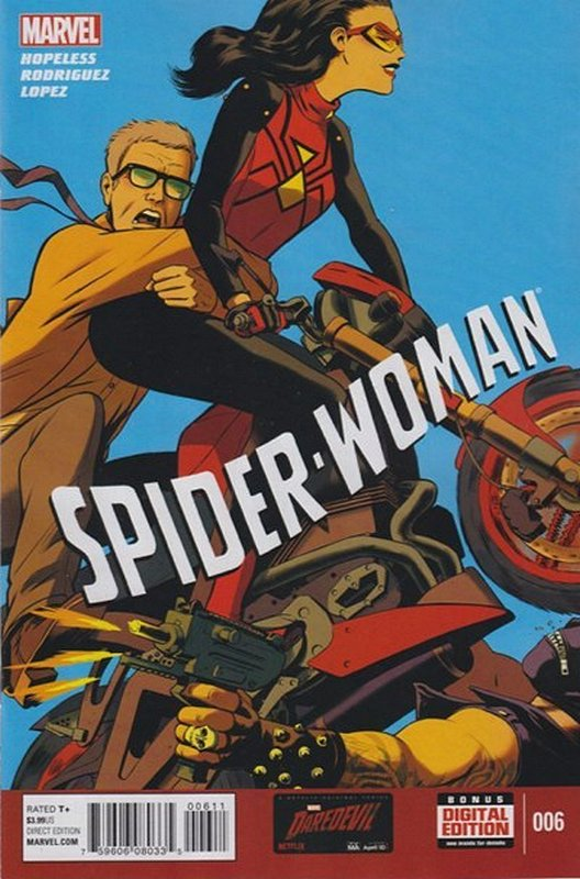 Cover of Spider-Woman (Vol 4) #6. One of 250,000 Vintage American Comics on sale from Krypton!