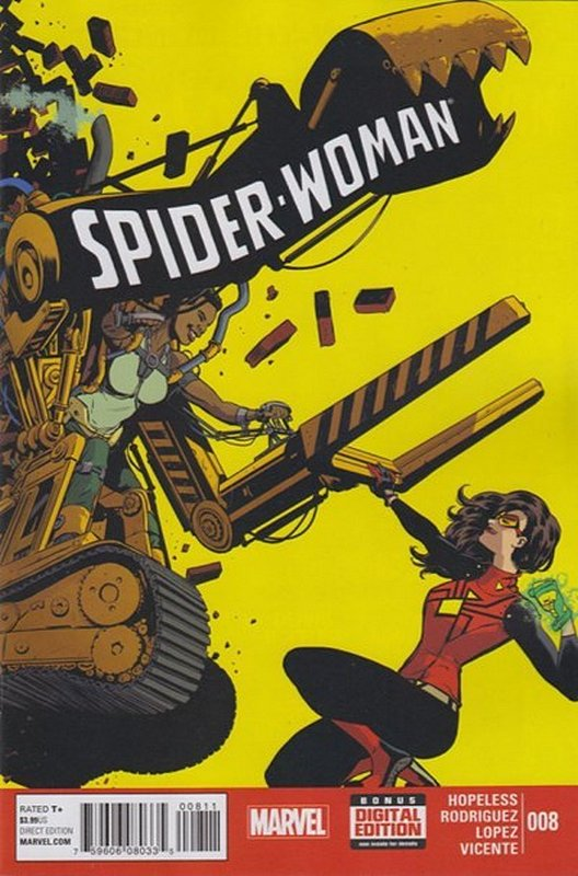 Cover of Spider-Woman (Vol 4) #8. One of 250,000 Vintage American Comics on sale from Krypton!