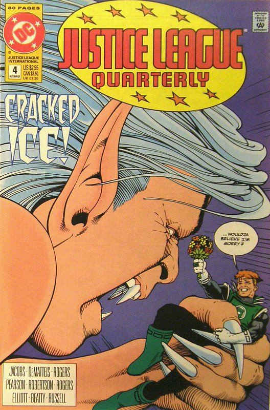 Cover of Justice League Quarterly (Vol 1) #4. One of 250,000 Vintage American Comics on sale from Krypton!