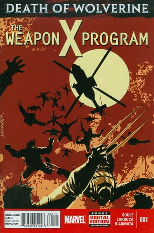 Cover of Death of Wolverine: Weapon X Program (2014 Ltd) #1. One of 250,000 Vintage American Comics on sale from Krypton!