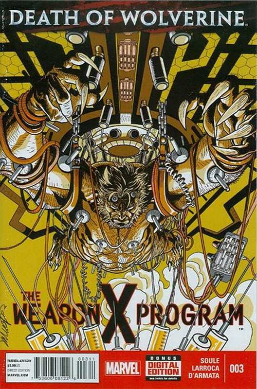 Cover of Death of Wolverine: Weapon X Program (2014 Ltd) #3. One of 250,000 Vintage American Comics on sale from Krypton!