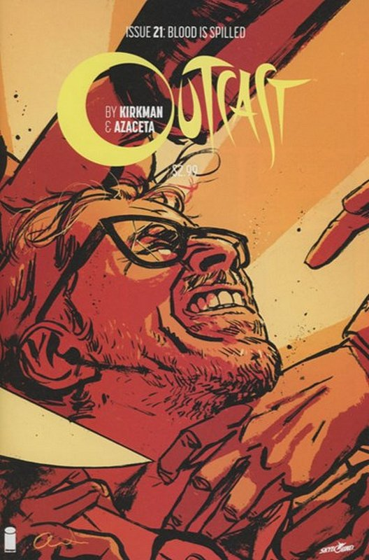 Cover of Outcast (Image) (Vol 1) #21. One of 250,000 Vintage American Comics on sale from Krypton!
