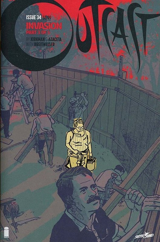 Cover of Outcast (Image) (Vol 1) #34. One of 250,000 Vintage American Comics on sale from Krypton!
