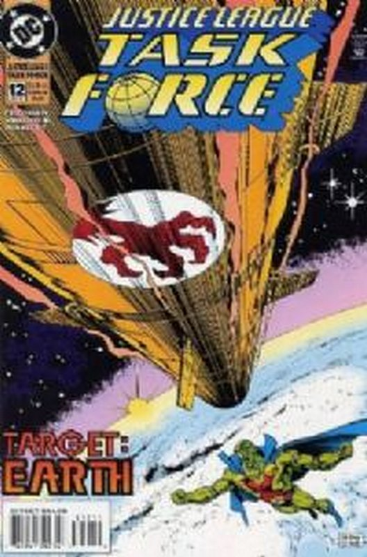 Cover of Justice League Task Force (Vol 1) #12. One of 250,000 Vintage American Comics on sale from Krypton!