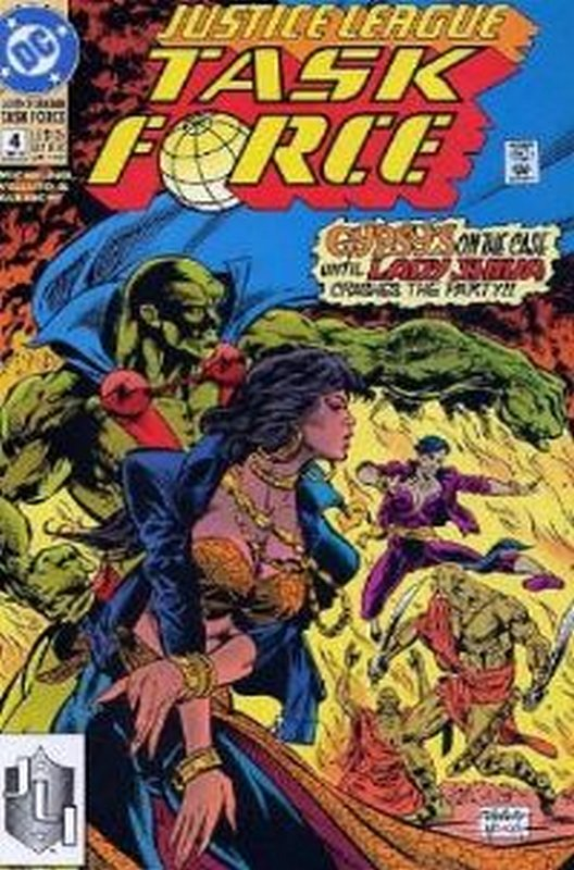 Cover of Justice League Task Force (Vol 1) #4. One of 250,000 Vintage American Comics on sale from Krypton!
